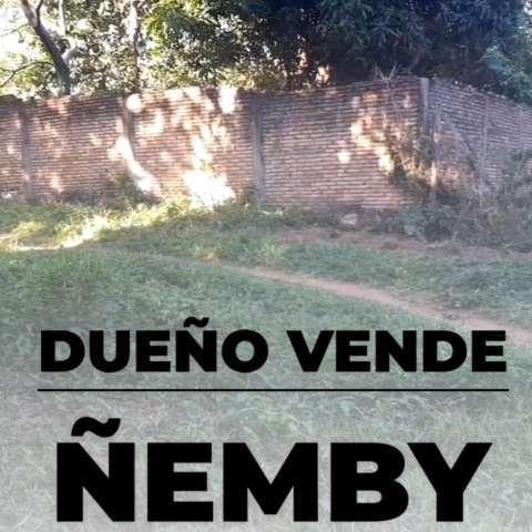 Terreno de 22x25 en Cañadita Paso de Patria Ñemby - 0