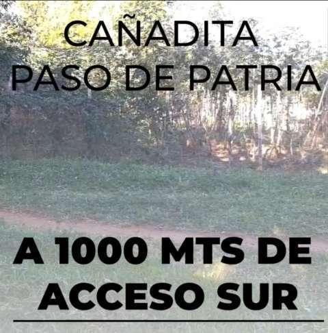 Terreno de 22x25 en Cañadita Paso de Patria Ñemby - 1