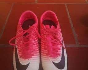 Botín Nike Mercurial X original calce 38