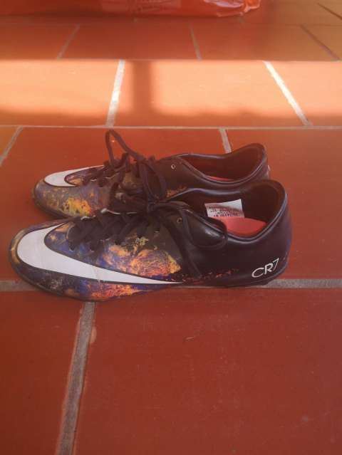 Botín Nike Mercurial CR7 calce 37 - 3