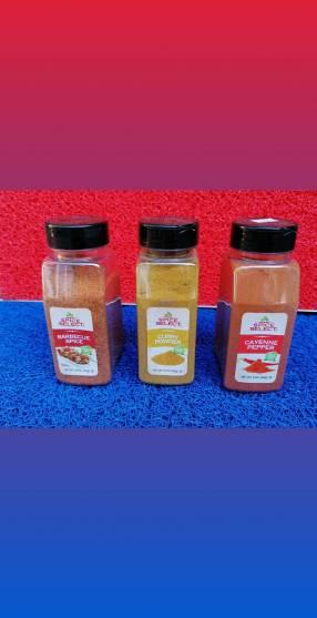 Condimentos y especias importadas USA