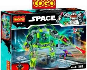 Robot espacial juego de construcción Cogo Blocks 182 piezas