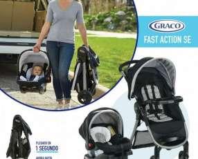 Carrito con baby seat Graco