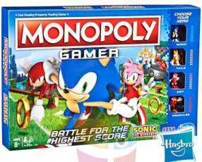 Monopoly Gamer Sonic the Hedgehog Hasbro