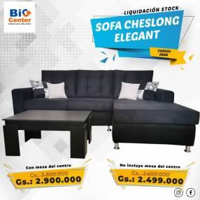 Sofa cheslong elegant