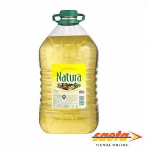 Aceite de girasol Natura bidón de 5 lts