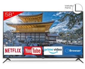 Smart tv led ultra HD 4k Aiwa 58 pulgadas