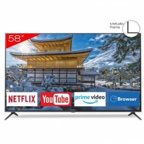 Smart tv led ultra HD 4k Aiwa 58 pulgadas