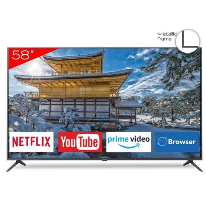 Smart tv led ultra HD 4k Aiwa 58 pulgadas - 0