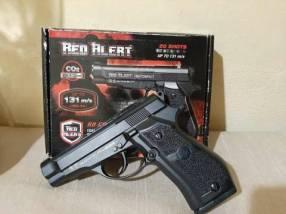 Pistola de aire comprimido co2 full metal