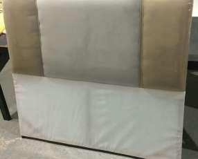 Cabeceras tapizadas sencillas