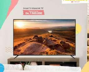 Televisor smart kiland 75 pulgadas!