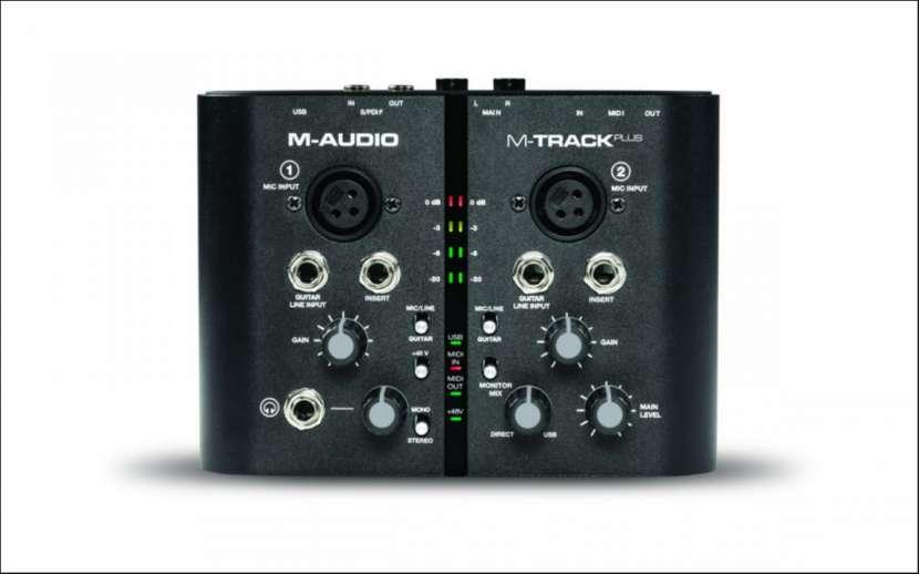Interfaz M-Audio M-Track Plus portable usb - 3
