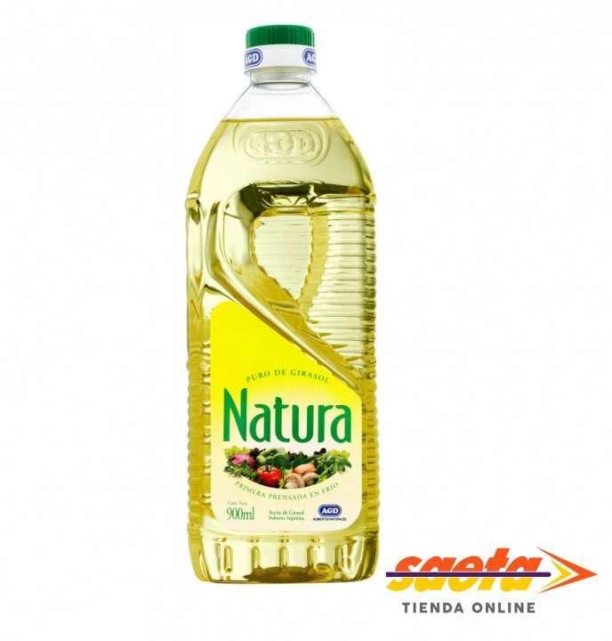 Aceite de girasol Natura de 900 ml - 0