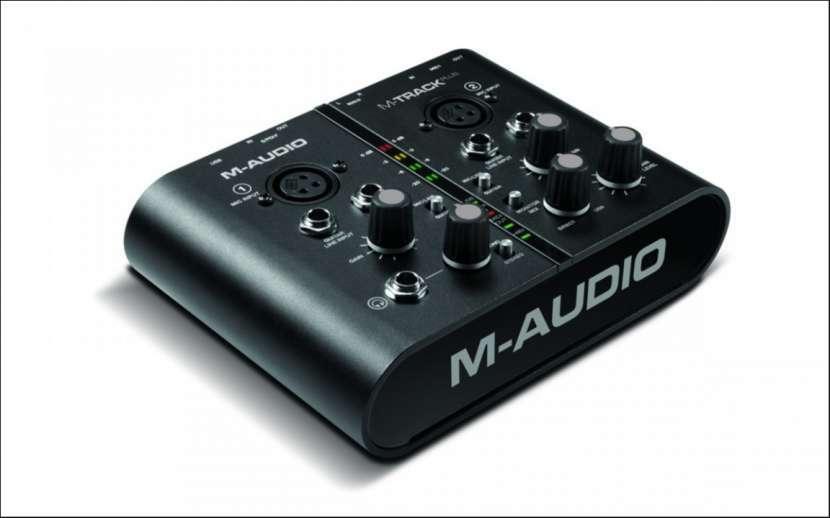 Interfaz M-Audio M-Track Plus portable usb - 1