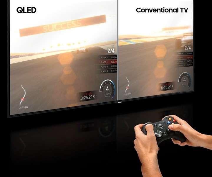 Smart TV Samsung 82 pulgadas 4K QLED UHD Q60R - 3