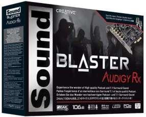 Placa de Sonido Sound Blaster Audigy RX 7.1 SB1550