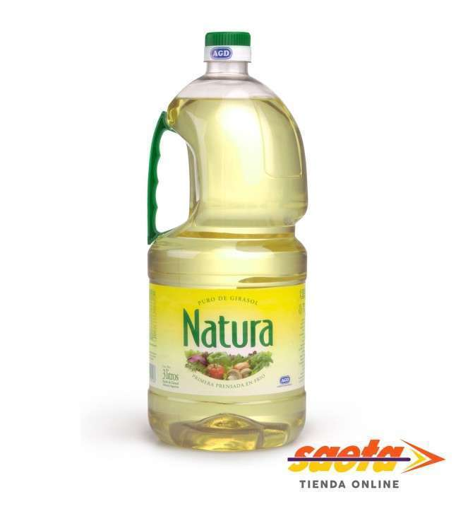 Aceite Natura de girasol bidón de 3 litros - 0