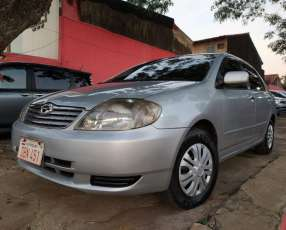 Toyota New Corolla serie G 2004 motor vvti 1500 naftero automático 4x2