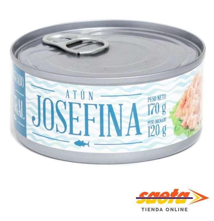 Atún desmenuzado al agua Josefina 170 gramos - 0