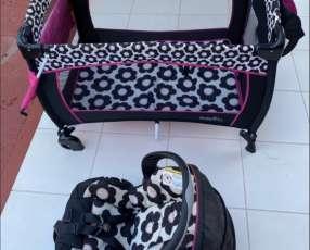 Carrito y baby seat Evenfloo