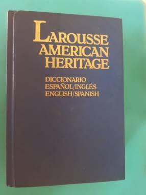 Diccionario larousse american heritage español inglés