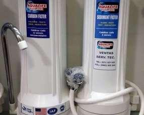 Filtro purificador para agua