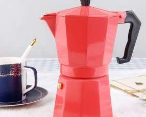 Cafetera Italiana Roja