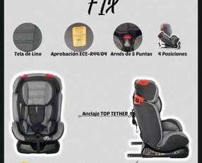Silla para auto Fix 0 a 36 kilos ISOFIX cod T-SA-02-G