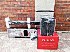 Barra de sonido y subwoofer Aiwa