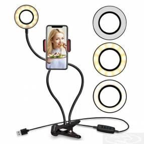 Soporte flexible con luz LED