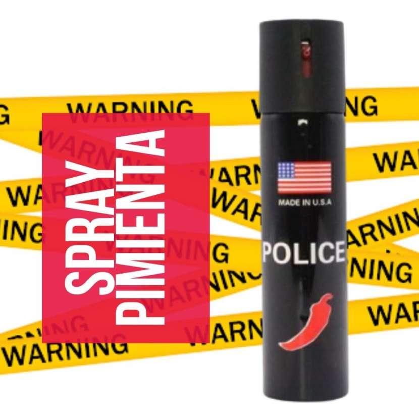 Gas pimienta para defensa personal - 0