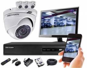 Instalación de cámara de seguridad CCTV, GPS y Alarma