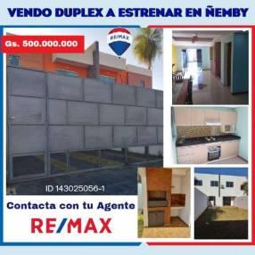 Duplex a estrenar en ñemby
