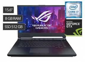 Notebook Asus Rog Gaming Strix 15,6 pulgadas I7-9750 PV GTX 1650
