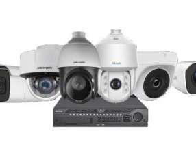 Camara de seguridad CCTV y Alarmas