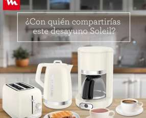 Cafetera + Hervidora + Tostadora