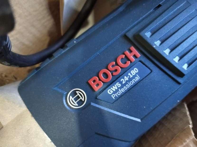 Amoladora Bosch GWS 24-180 profesional - 0