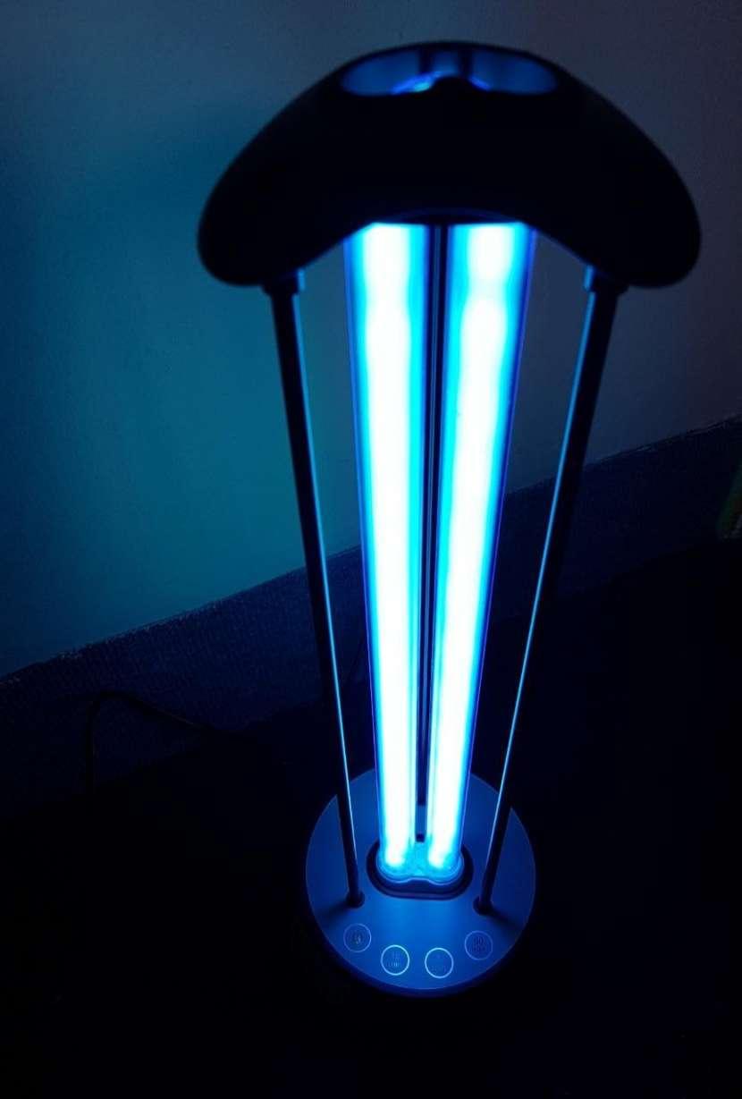 Luz esterilizadora desinfectante a control - 3