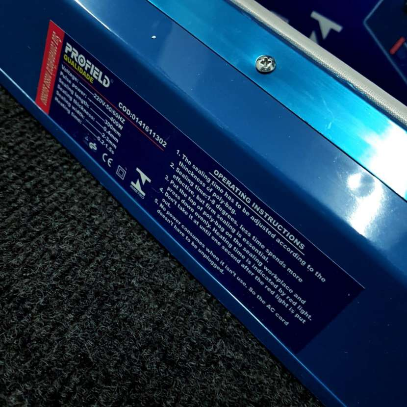 Maquina sellador eléctrico - 6