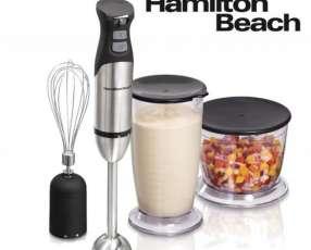 Mixer Batidora y Procesadora de Mano - Hamilton Beach