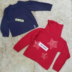 Diversas ropas para niños