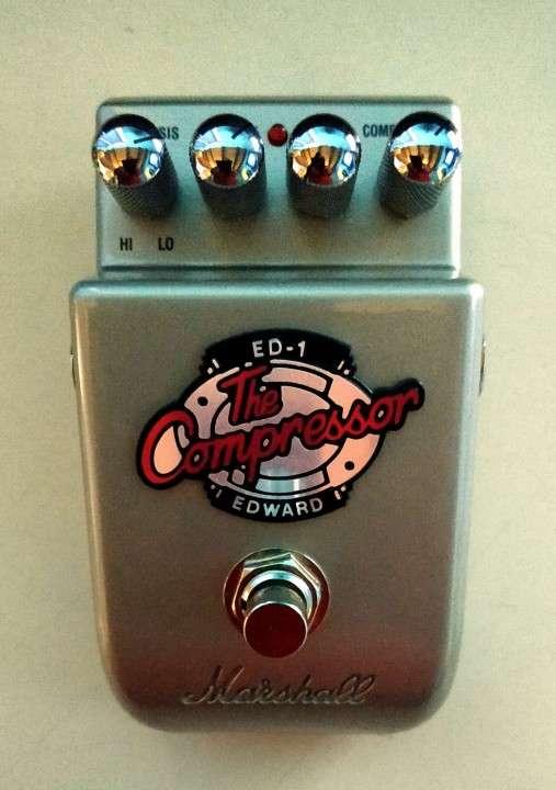 Pedal De Compresión Para Guitarra Eléctrica Marshall ED-1 - 2