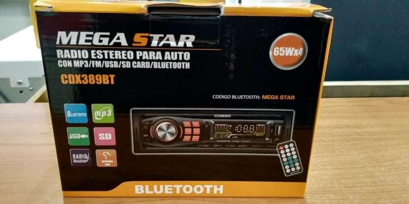 Autoradio Mega Star CDM381BT - 1