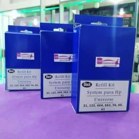 Kit de recarga para cartuchos de tinta