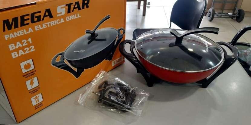 Cocina Eléctrica Mega Star BA21R 110V - 0