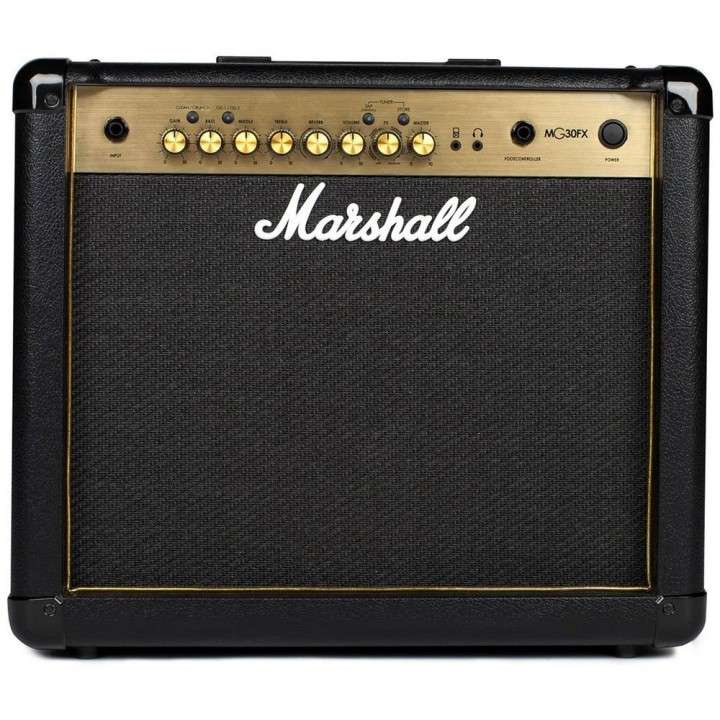 Amplificador Para Guitarra Eléctrica Marshall MG30FX Combo - 0