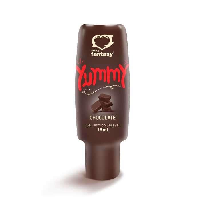 Gel para sexo oral comestible chocolate Yummy - 1