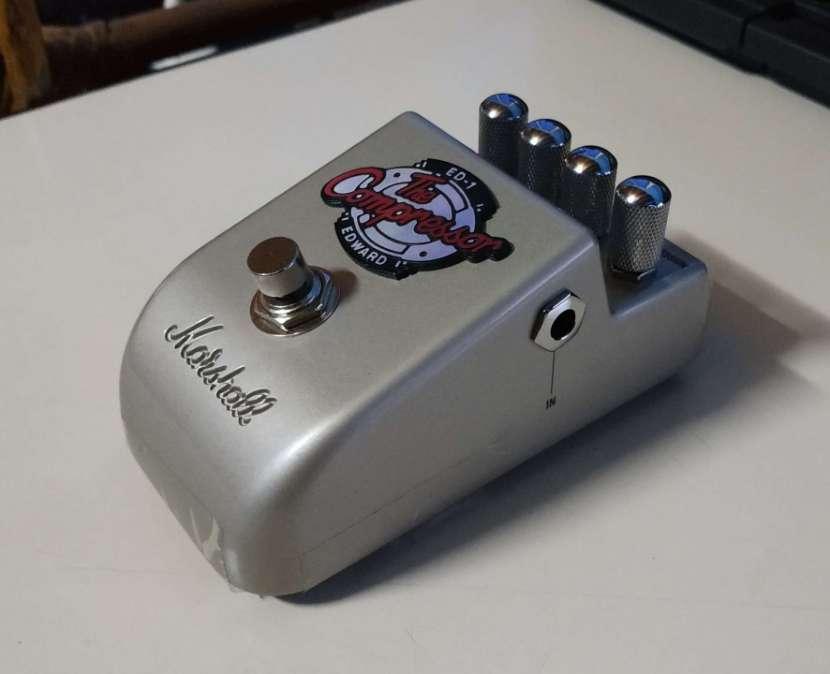 Pedal De Compresión Para Guitarra Eléctrica Marshall ED-1 - 1