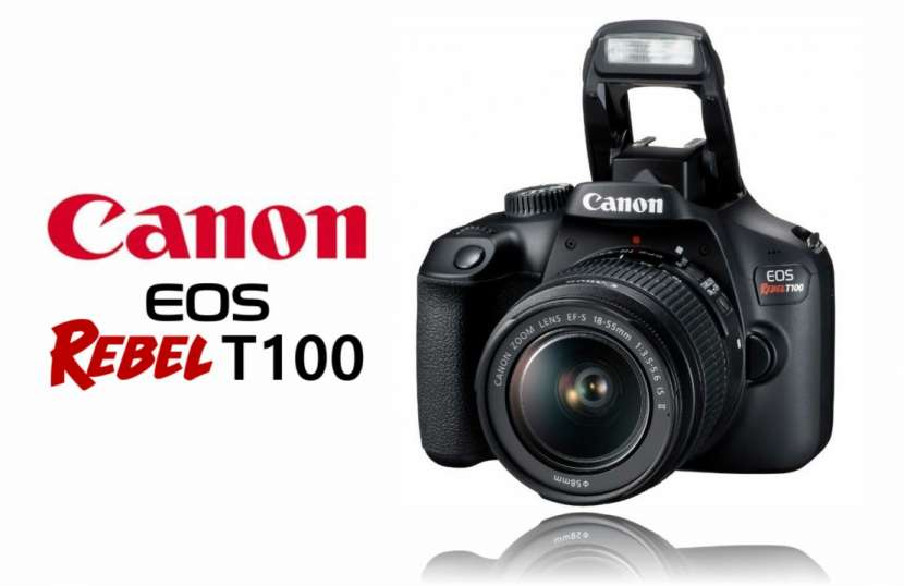 Canon EOS Rebel T100 Kit 18-55mm - 0
